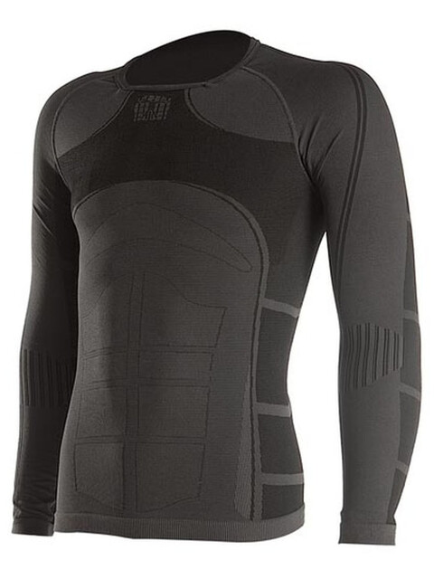 Bioracer Long Sleeve Shirt Ondergoed bovenlijf Heren zwart